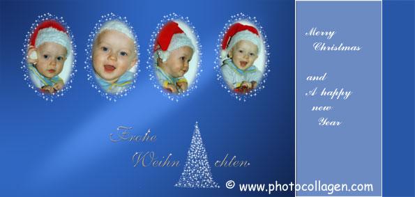 Weihnachtskarten Mit Eigenen Fotos