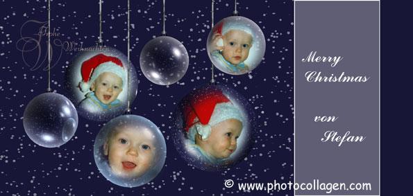 Weihnachtskarten Mit Eigenem Bild.Weihnachtskarten Nach Vorlage